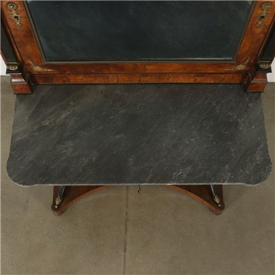 Impressive Console with Mirror Italy Second Quarter of 1800s Antiques Consoles