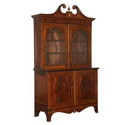 Mahogany Cupboard Manufactured in England Late 1700s