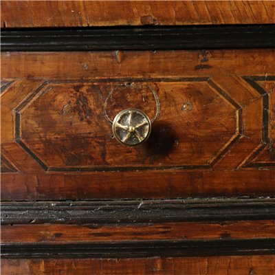 Bureau Bookcase with Inlays Italy First Half of 1700s Antiques Secretaire
