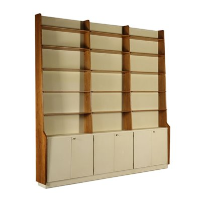 Bookcase Attributed to Attilio Colonnello Vintage Italy 1960s Vintage Modernism Bookcases