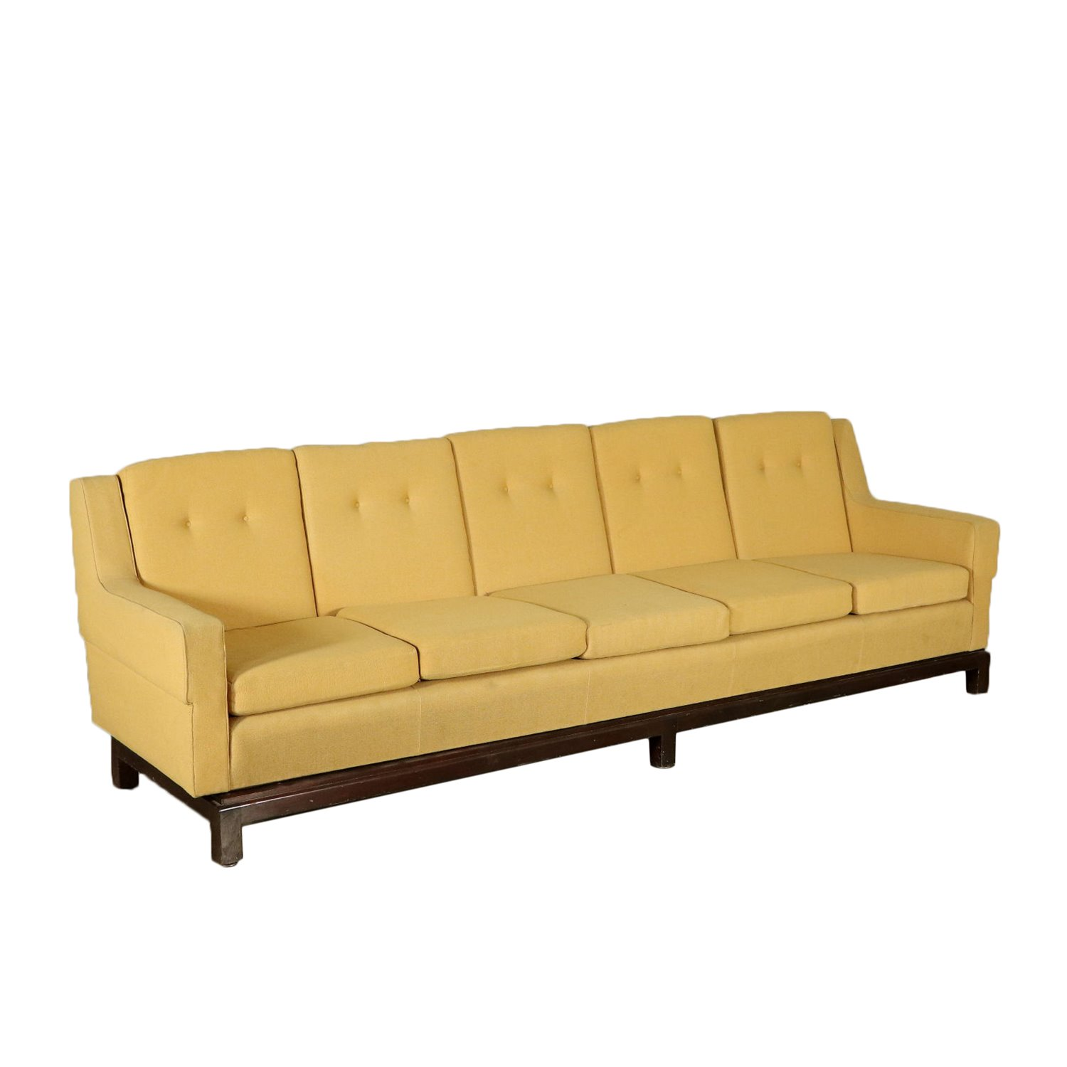 5 Seater Sofa Fabric Upholstery Vintage