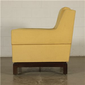 Armchair Foam Padding Vintage Italy 1960s-1970s Vintage Modernism Armchairs