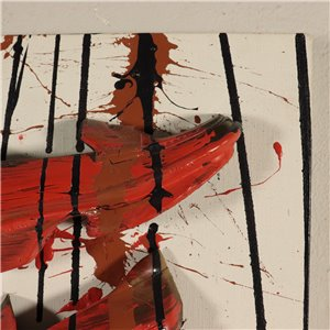 Painting by Arman 10000 Cendrillons 2003 Art Contemporary