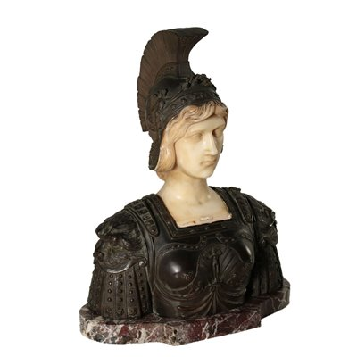 Warrior Bust Antiques Sculptures