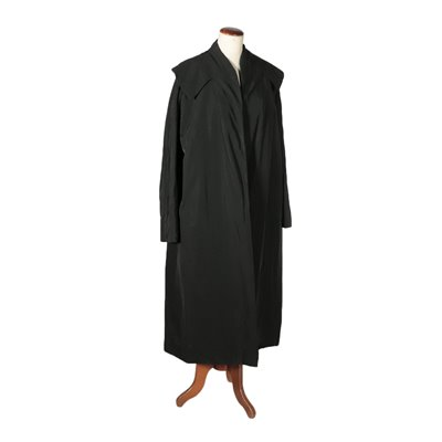 Vintage Black Coat Made in Italy 1950s