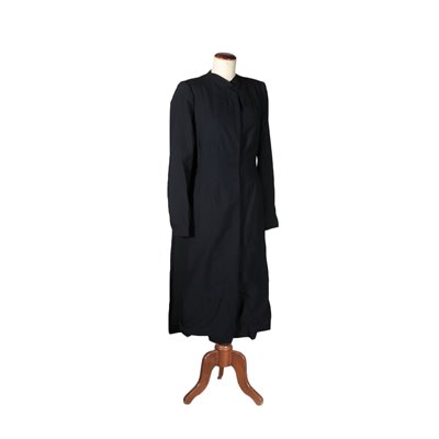 Vintage Night Blue Coat Made in Milan Italy 1950s