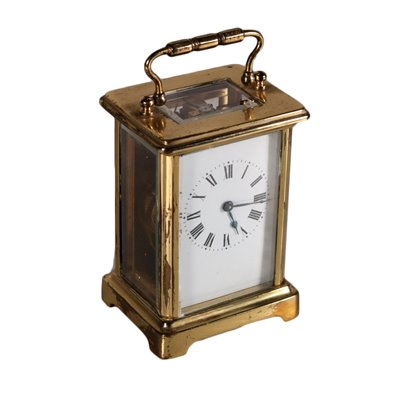Gilded Bronze Carriage Clock 19th Century