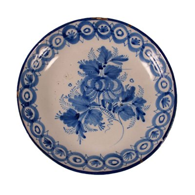 Plate Maiolic Ceramic North of Italy 19th Century
