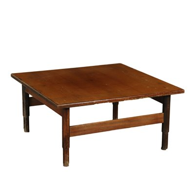 Small Table Solid Wood and Rosewood Italy 1960s Italian Prodution