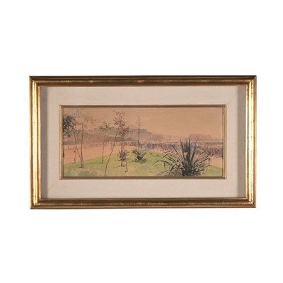 Vincenzo Loria, Watercorcolor on Paper, 19th Century