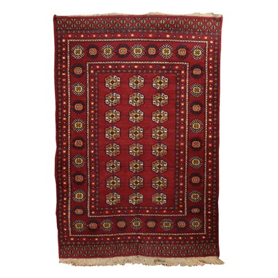 Bukhara Carpet Wool and Cotton Pakistan 1990s