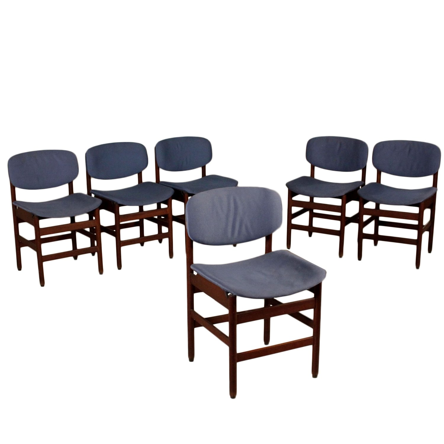 1960s Set of Six Chairs