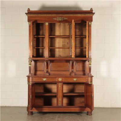 Empire Stile Two Bodies Cupboard Italy 20th Century