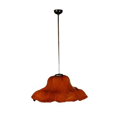Ninfea Ceiling Lamp by Toni Zuccheri for Venini Vintage Italy 1960s