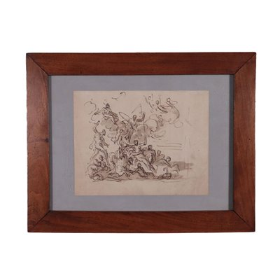 James Thornhill Pen And Ink On Paper About 1720