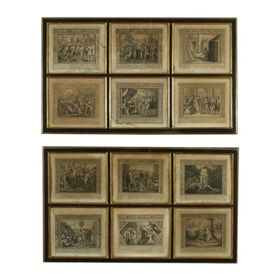 Two Series Of Etchings Biblical Subject Early '800