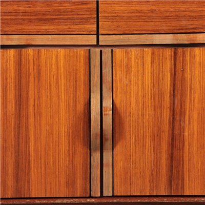 Rosewood Cupboard Italy 1960s