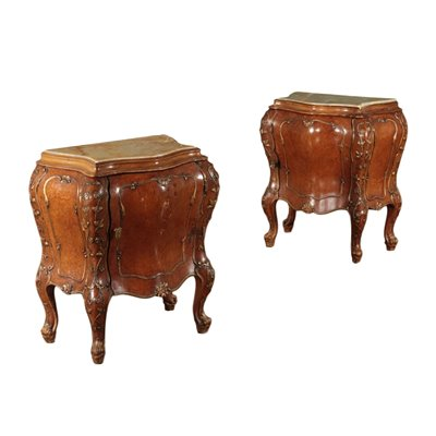 Pair of Bedside Table Marple Italy 20th Century