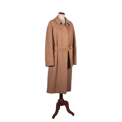 Burberry Woman Coat Cachemire Wool London England 1990s