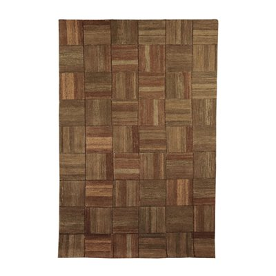 Burano Collection Geometrical Carpet of Sartori, Wool,