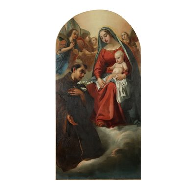 Madonna with Child and St. Anthony from Padua 19th Century