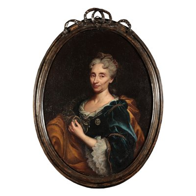 Portrait of a Noblewoman by Il Mulinaretto 18th Century