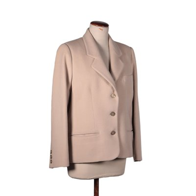 Vintage Herno Powder Pink Jacket Wool Cachemire Italy 1980s-1990s