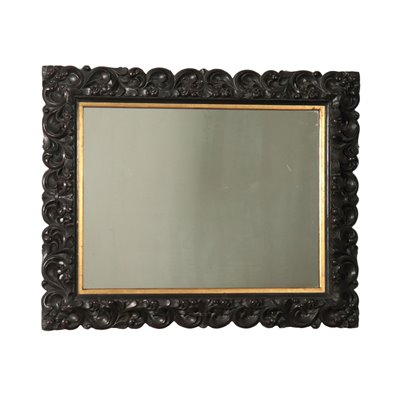 Neo-Baroque Wall Mirror Italy 19th Century
