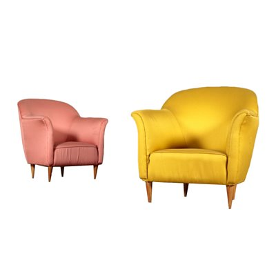 Vintage Armchairs Italy 1950's