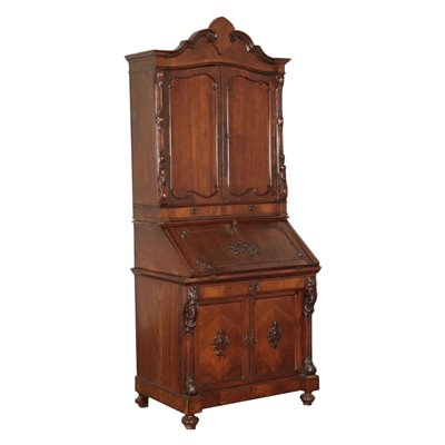 French Louis Philippe Cupboard Walnut France 19th Century