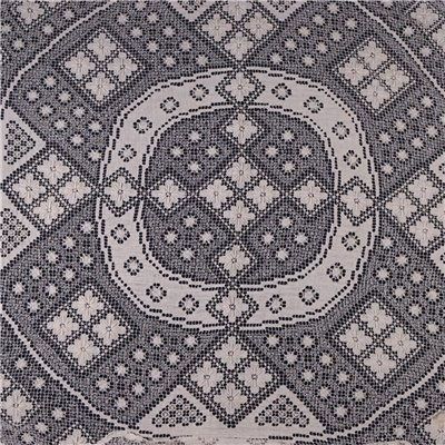Round Table Cover Made with Filet Processing Cotton