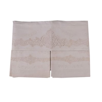 Doubel Bed Set with 2 Pillowcases Linen