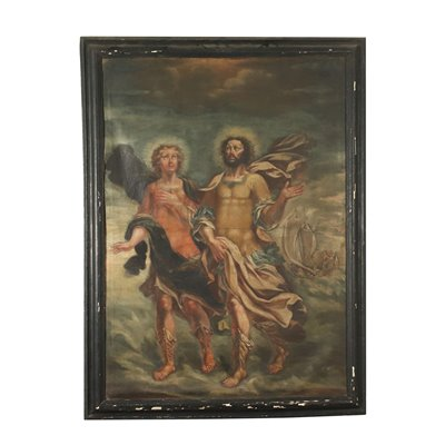Saint Nazario and Celso Oil On Canvas 17th Century