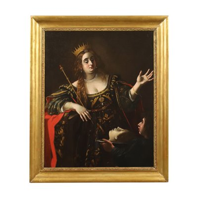 Attributed to Giovanni Baglione Oil On Canvas 17th Century