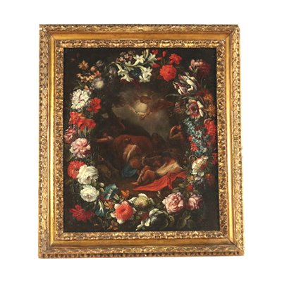 Attributed To Francesco Mantovano Oil On Canvas Second Quarter 1600