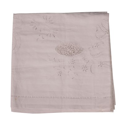 Flax Square Tablecloth Italy 20th Century