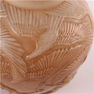 Glass Vase Central Europe 20th Century
