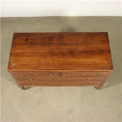 Venetian Directoire Chest Of Drawers Walnut Italy 18th-19th Century