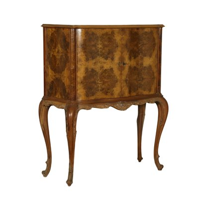 Bar Cabinet In The Style of Chippendale Italy 20th Century