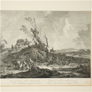Etching By Giovanni Volpato 18th Century