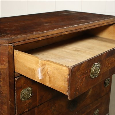 Neo-Classical Piacentine CHest of Drawers Italy 18th Century