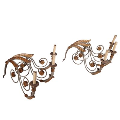 Pair of Neo-Classical Wall Lights Italy 18th Century