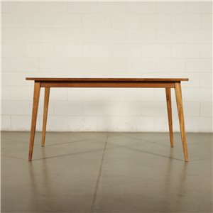 Table Beech Formica Italy 1950s