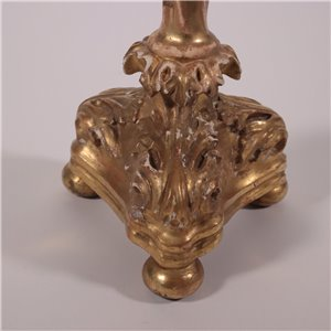 Eclectic Torch Holder Italy 19th Century