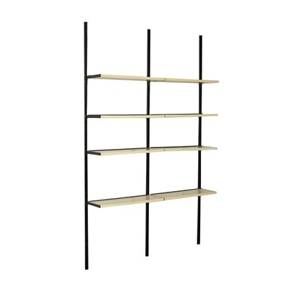 Bookcase Metallic Enamelled Lacquered Wood Italy 1960s-1970s