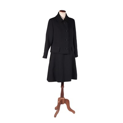 Vintage Suit Dress and Jacket Wool 1960s