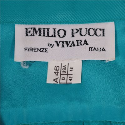 Vintage Pucci Dress Wool Florence Italy 1990s