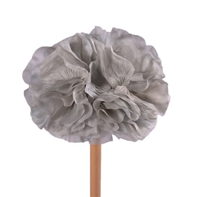 Vintage Hat with Silk Flowers, Italy 1950s-1960s