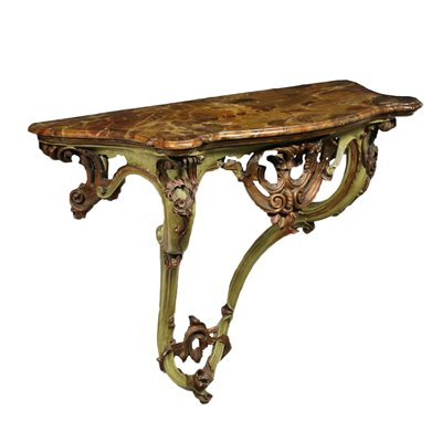 Revival Drop-Shaped Console Italy 20th Century
