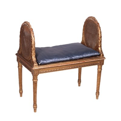 Neo Classical Revival Bench Italy 20th Century